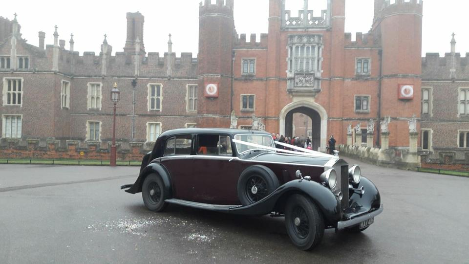 Classic Car Hire Rolls Royce Phantom III 1937 Hampton Court Palace.jpg