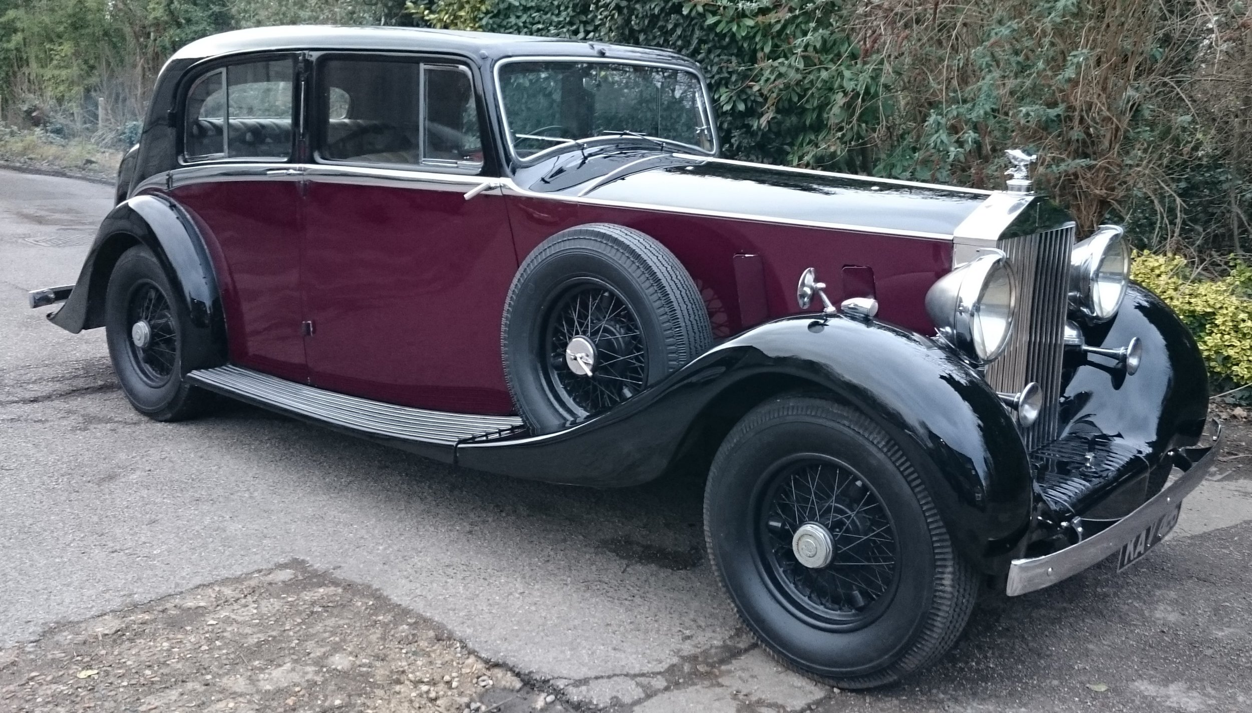 Classic Car Hire Rolls Royce Phantom III 1937 Wedding transport (2).JPG