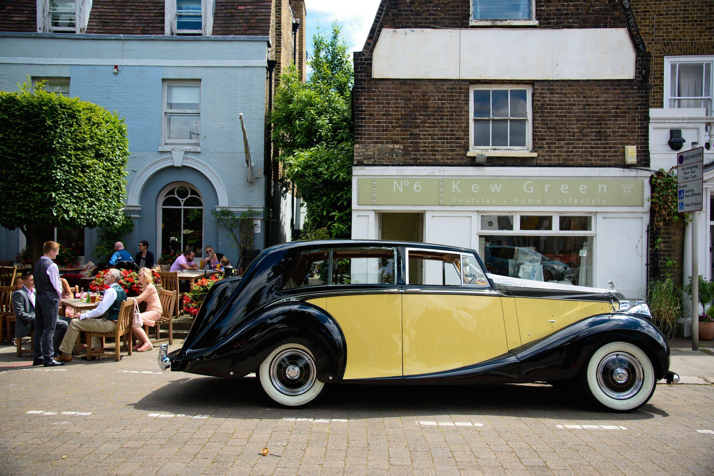 Classic Car Hire Rolls Royce Silver Wraith 1950 Sporting Event.jpg
