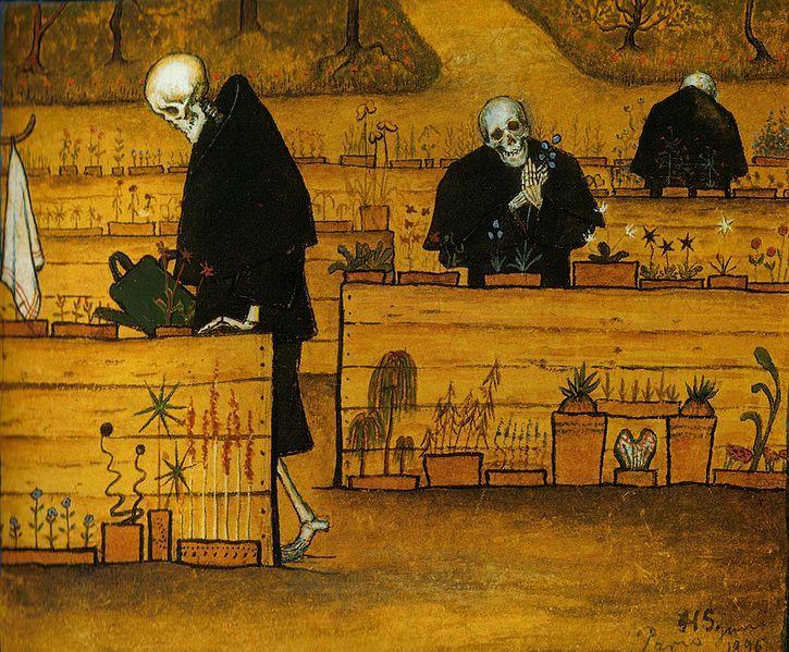 Hugo Simberg,  The Garden of Death , 1896