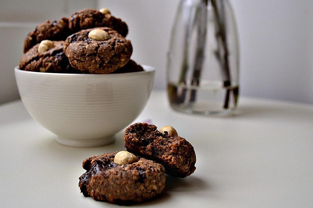 Buckwheat Hazelnut Chocolate Chunk Cookies (DSC_0683)