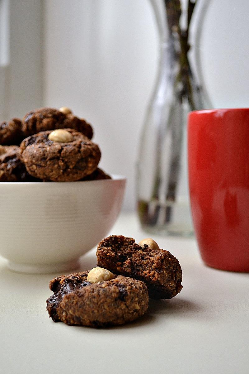 Buckwheat Hazelnut Chocolate Chunk Cookies (DSC_0697)