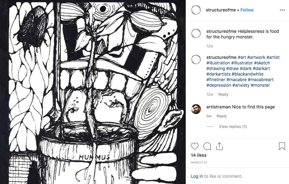Instagram Julian Structure of Me