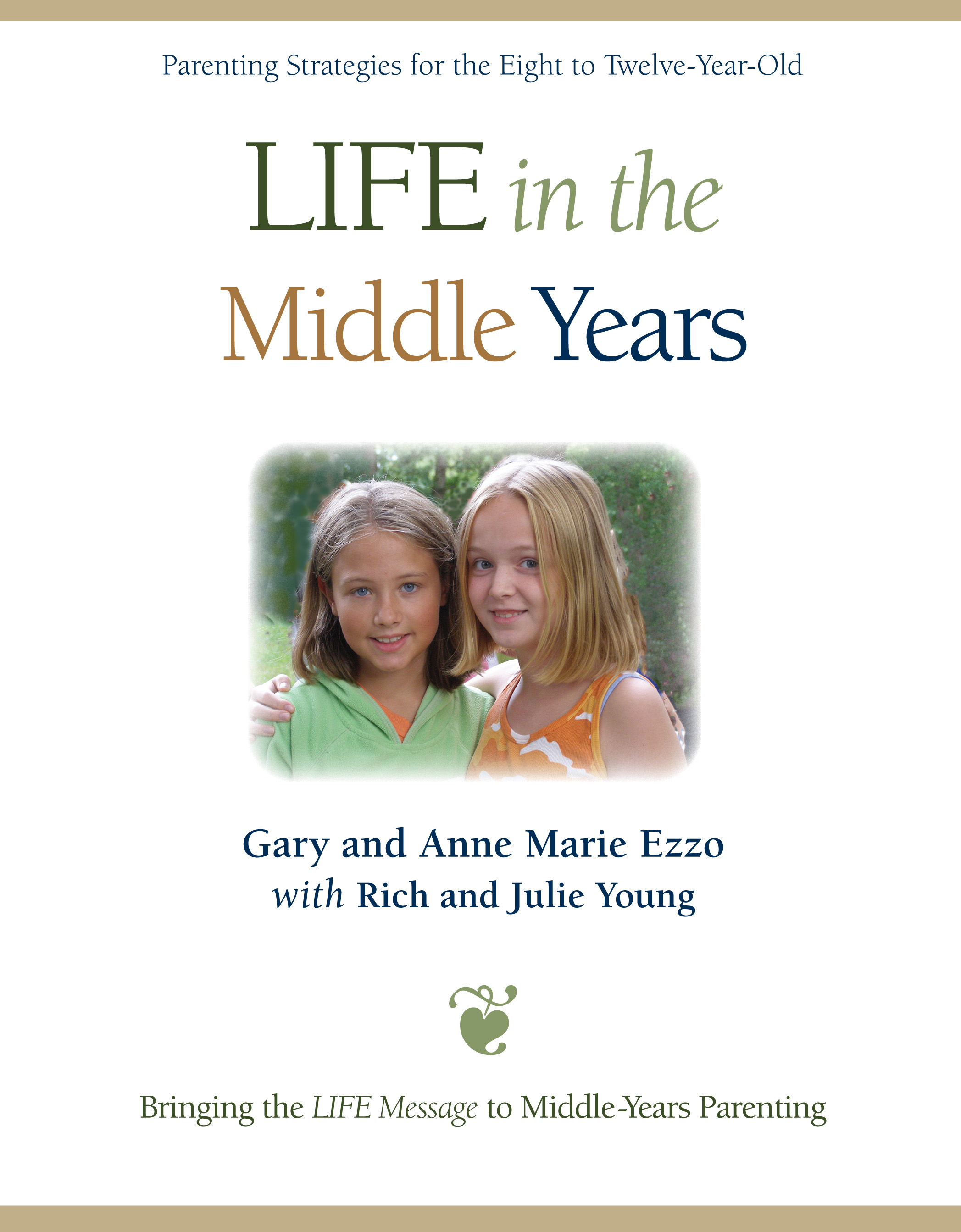 It is our firm conviction that rightly meeting the small challenges of the middle-years significantly reduces the likelihood of big challenges in the teen years. In other words, the groundwork you lay now will impact your relationship with your children through all of adolescence and even long after they're grown. Therefore, this book is as much about building a strong relationship with your middle-years child now, as it is about preventing serious teen-parent conflicts in the future.