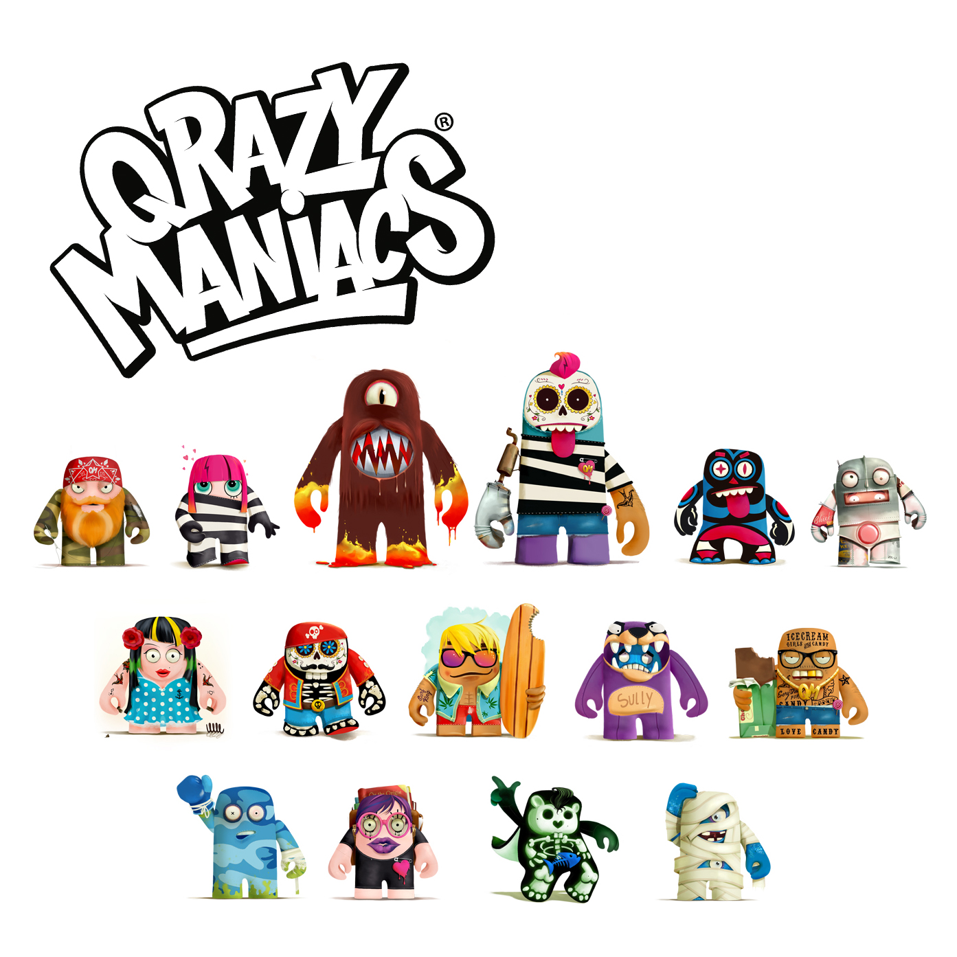 Design character figurines  Studio Monnikenwerk ©