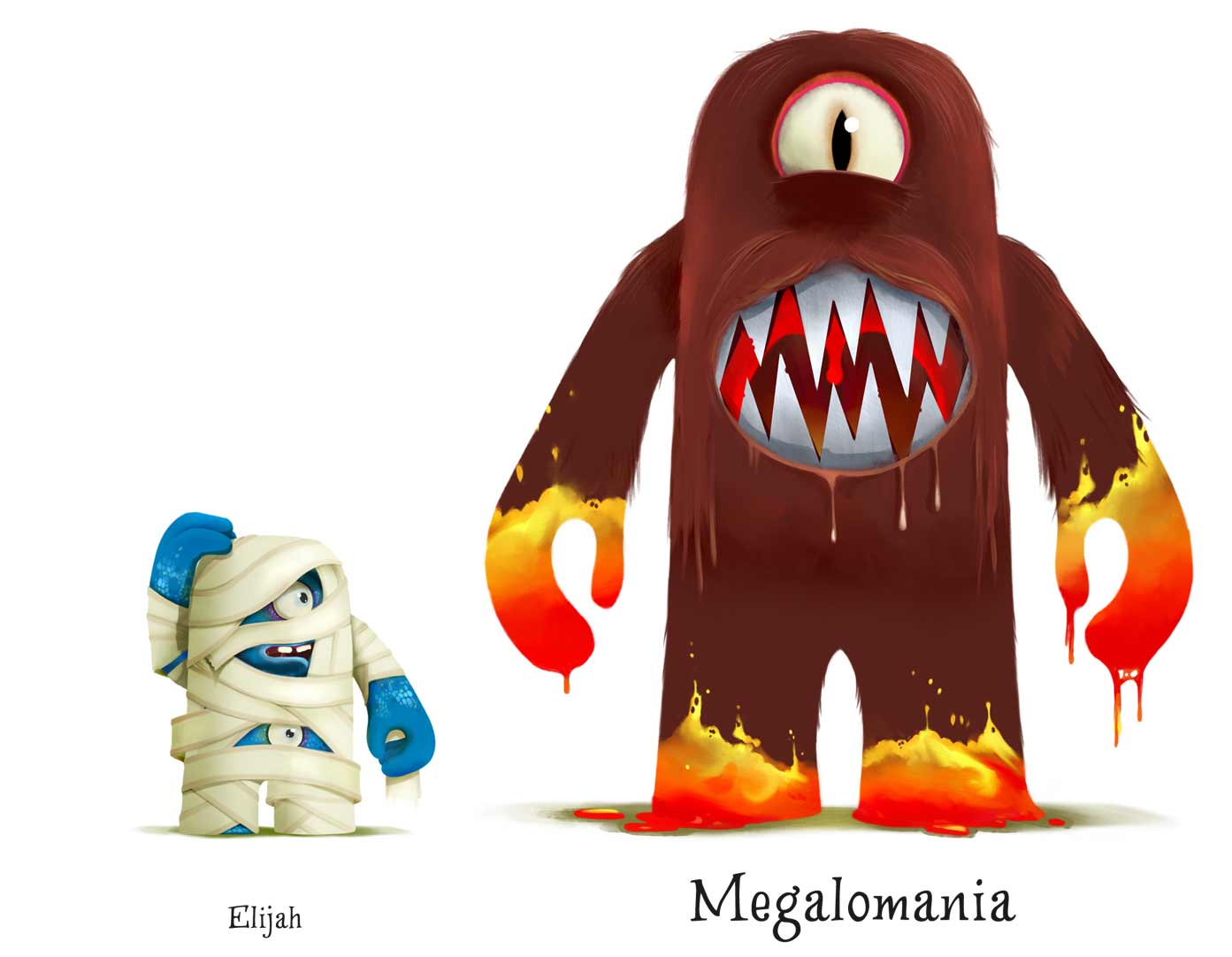 Character design figurines  Studio Monnikenwerk ©