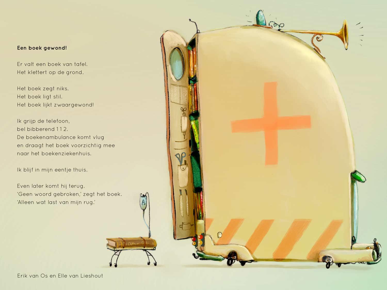 Een boek gewond! - Erik van Os en Elle van Lieshout