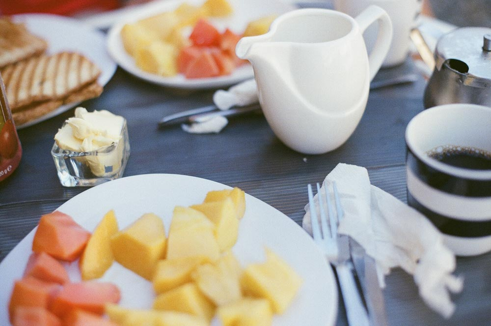 One of the nicest breakfasts - just simple, but so good!