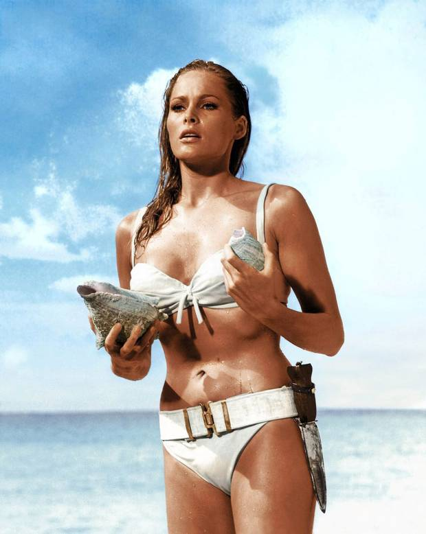 Ursula Andress in  Dr. No