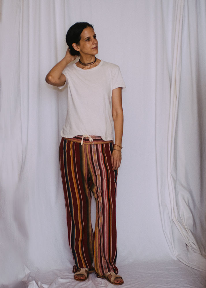 T-shirt and pants:  Imogen + Willie  (the drop tee and fethiye pant)