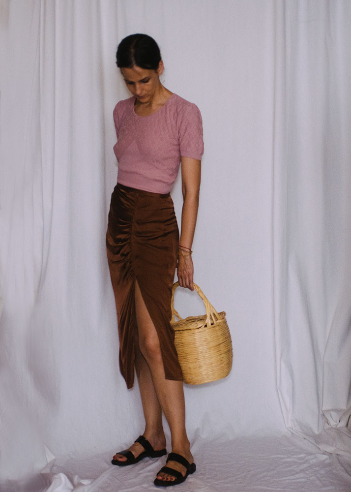 Top and skirt:  Rouje