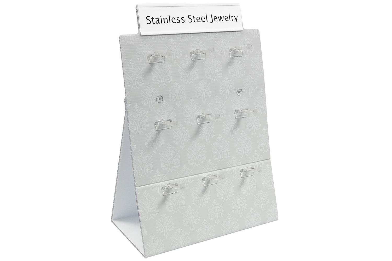 STAINLESS STEEL JEWELRY Corrugated Display.jpg