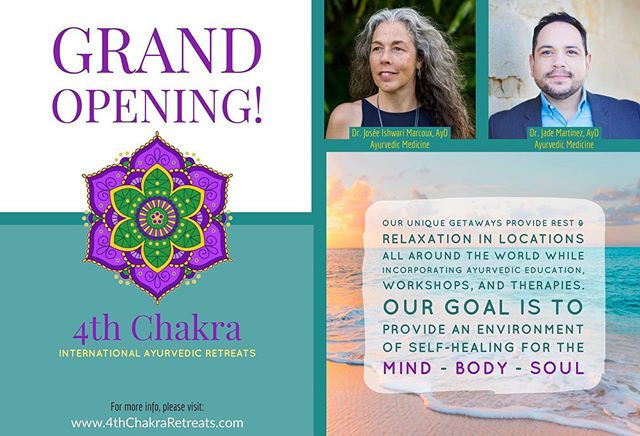 Sooo excited!!! Couldn't choose a better partner to start this AMAZING project ! Join us in our first Ayurvedic retreat , you won't regret it !#svasti #jadegreendoor #ayurveda #ayurvedalifestyle #ayurvedalifestyle #healingyoursoul #healingyourlife #californiacollegeofayurveda #retreat #dallas #yoga #wellness
