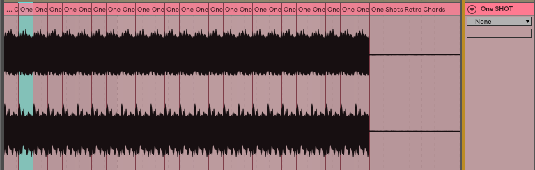 If your tuner isn't giving you a note you sometimes have to lengthen the one shot.. I do this by taking a section and duplicating it so it's one long continues tone. Doesn't always work, but does the trick a majority of the time