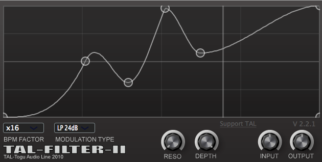 Tal-Filter 2 by Togu Audio line