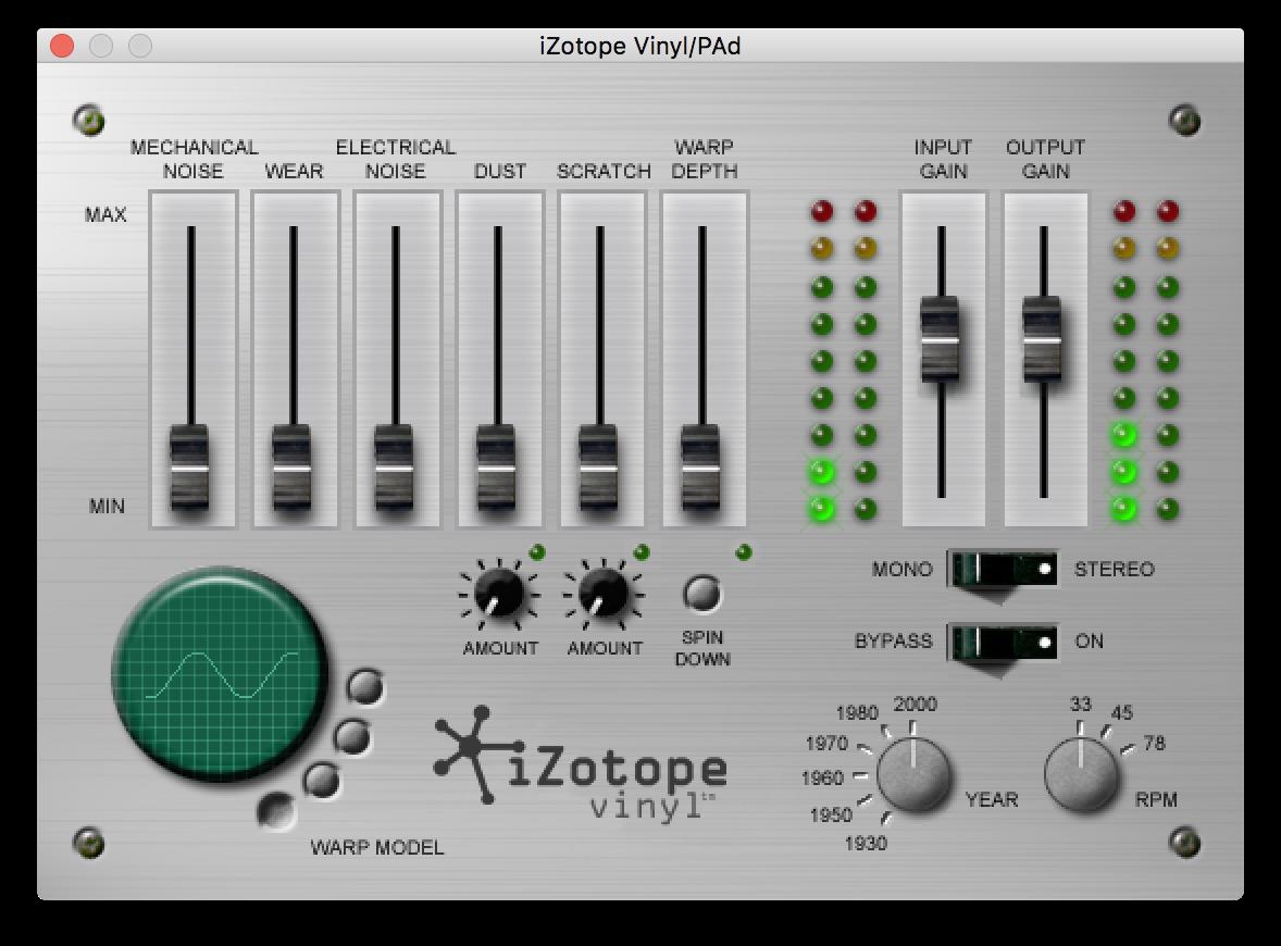 Vinyl by Izotope