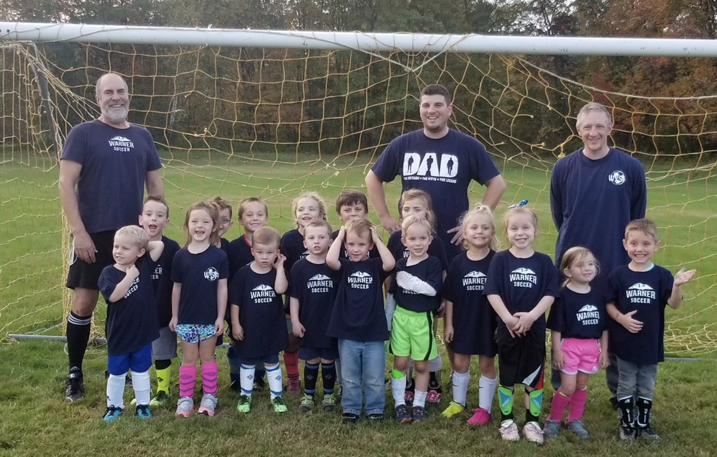 PAI is happy to support Warner Youth Soccer! We have the pleasure of sponsoring the Pre-K and Kinder teams! Looking great everyone!
