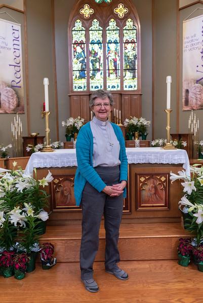 Deacon Jennifer Scherzer