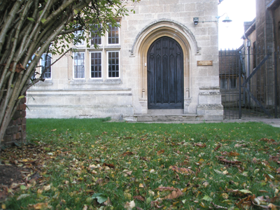 The front door of the Centre for Muslim-Christian Studies