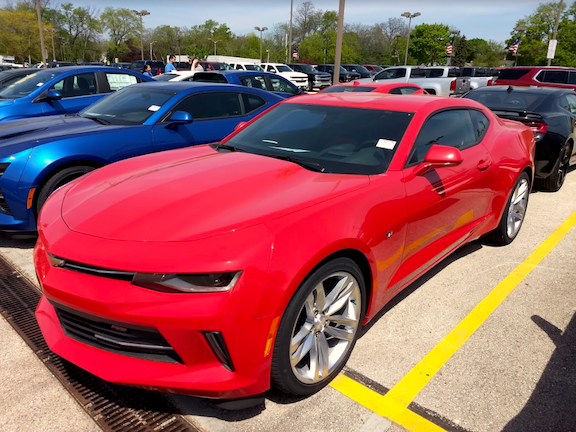Grand Prize: 2018 Chevrolet Camaro 2LT w/ RS Package from Holz Chevrolet-Hales Corners   (valued at $40,755.00)