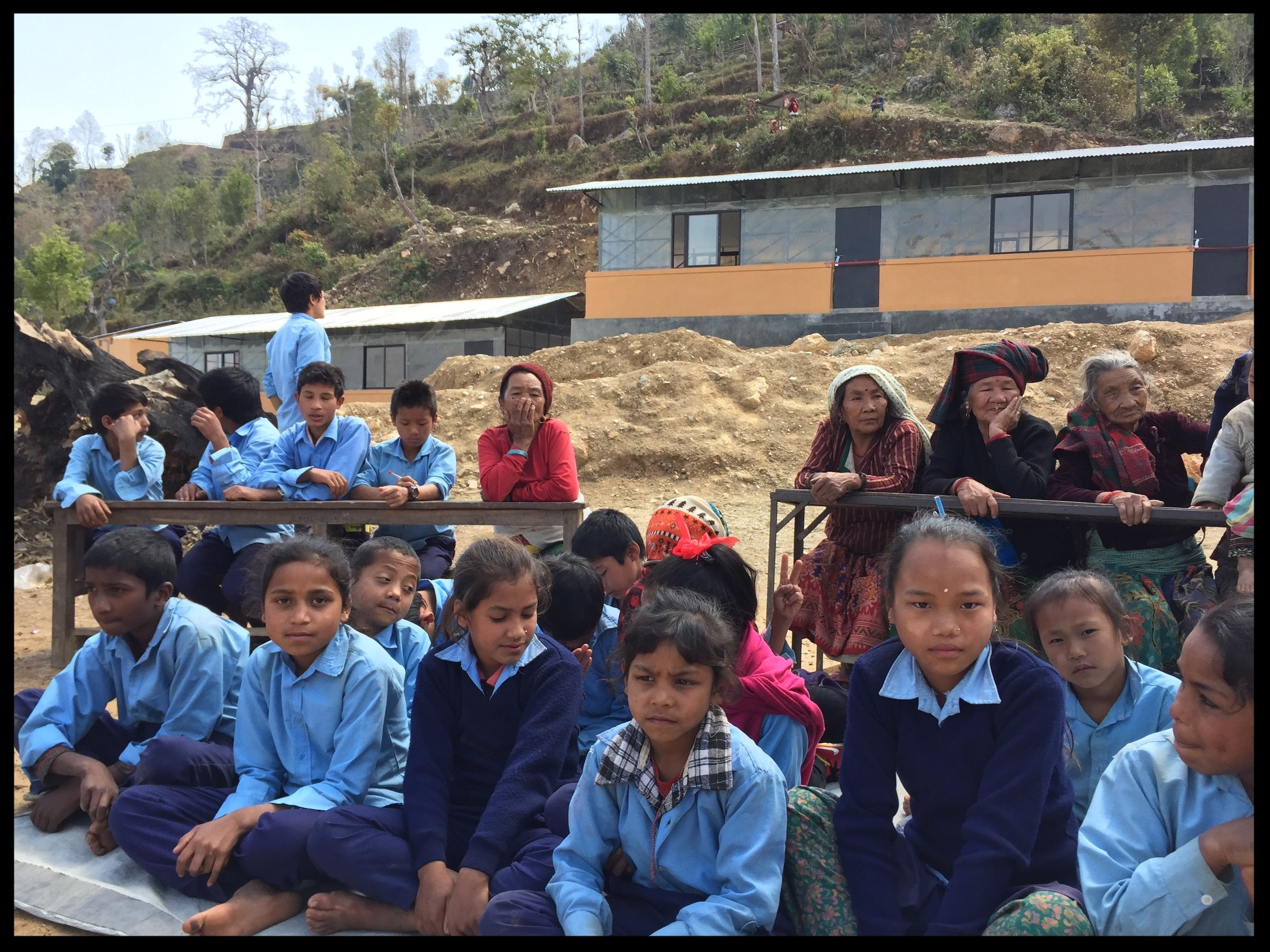 NEPAL - Since 2015 we have been building schools in Nepal utilizing volunteers from all over the world. We offer our local construction team any support they need. We paint buildings, move materials, teach English and play sports with the students. We are currently developing a soccer tournament in the village of the epicenter, Backchek.