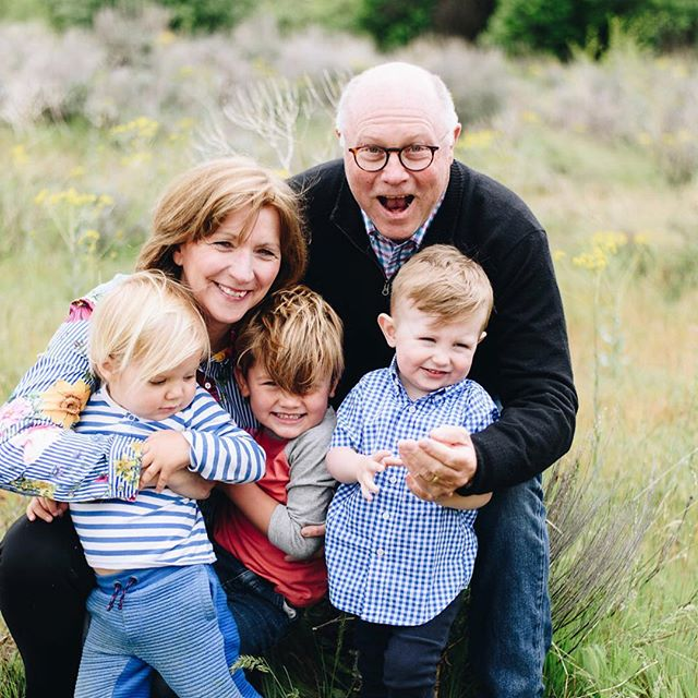 To the most supportive, kind, loving and inspiring Dad out there- Happy Dad's Day!! Henry, Andy and Otto are so lucky to have you as their Grandpa.