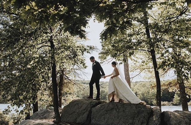 Happy Fri-yay! Stunning couple ✨ Makeup & Hair on my friend on her wedding day @ctofani 🍾💛#weddingseason #friends #theknot #hobokenbride #jerseycitybride #bestfoodever 📷 @herenorth