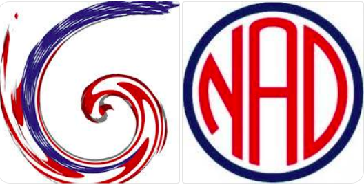 National Deaf Chamber of Commerce logo next to NAD logo.