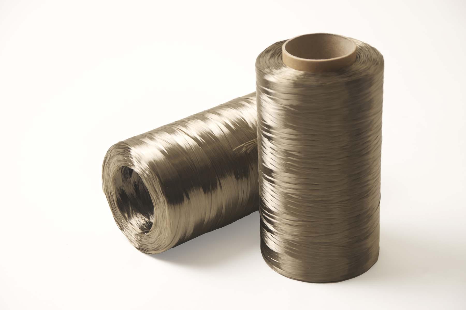 Spools of Mafic Basalt Fiber product