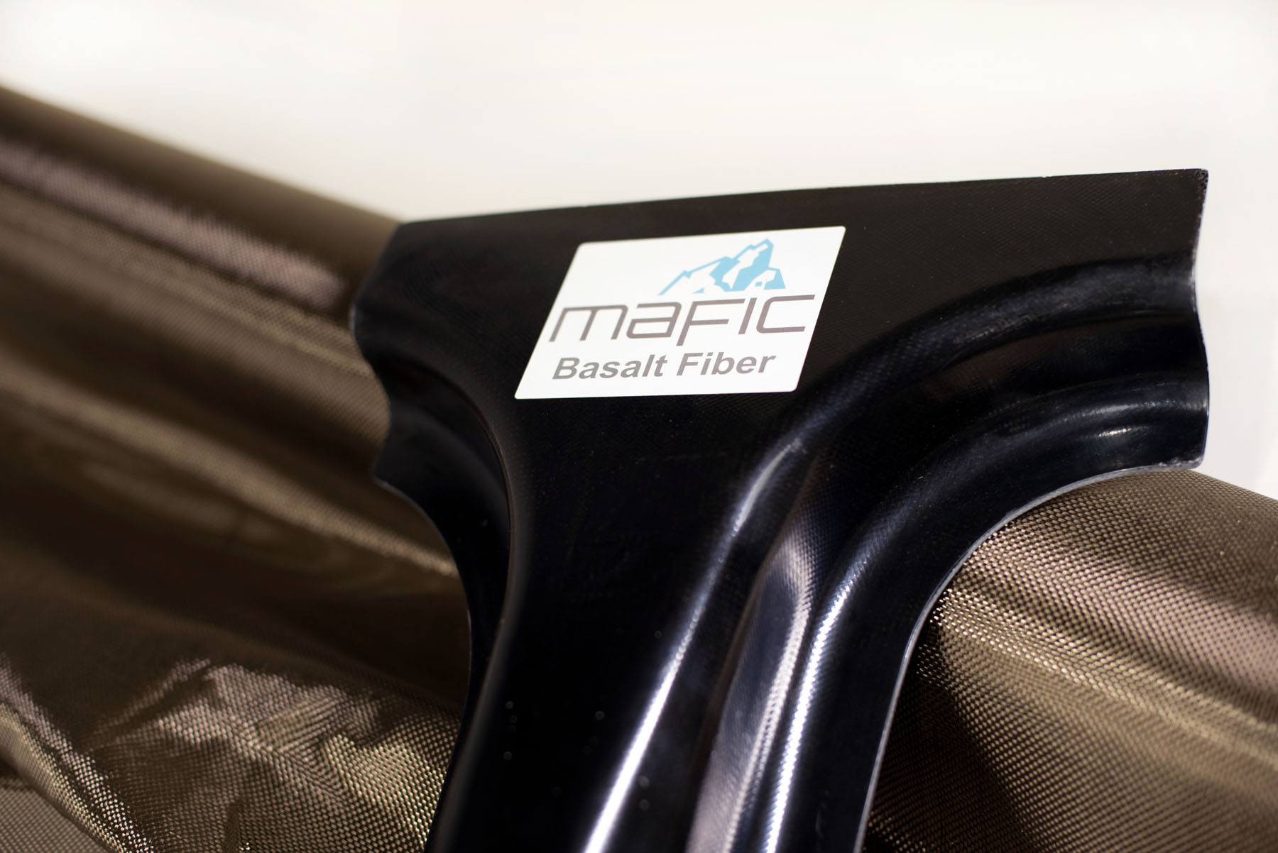 Spools of Mafic basalt fiber
