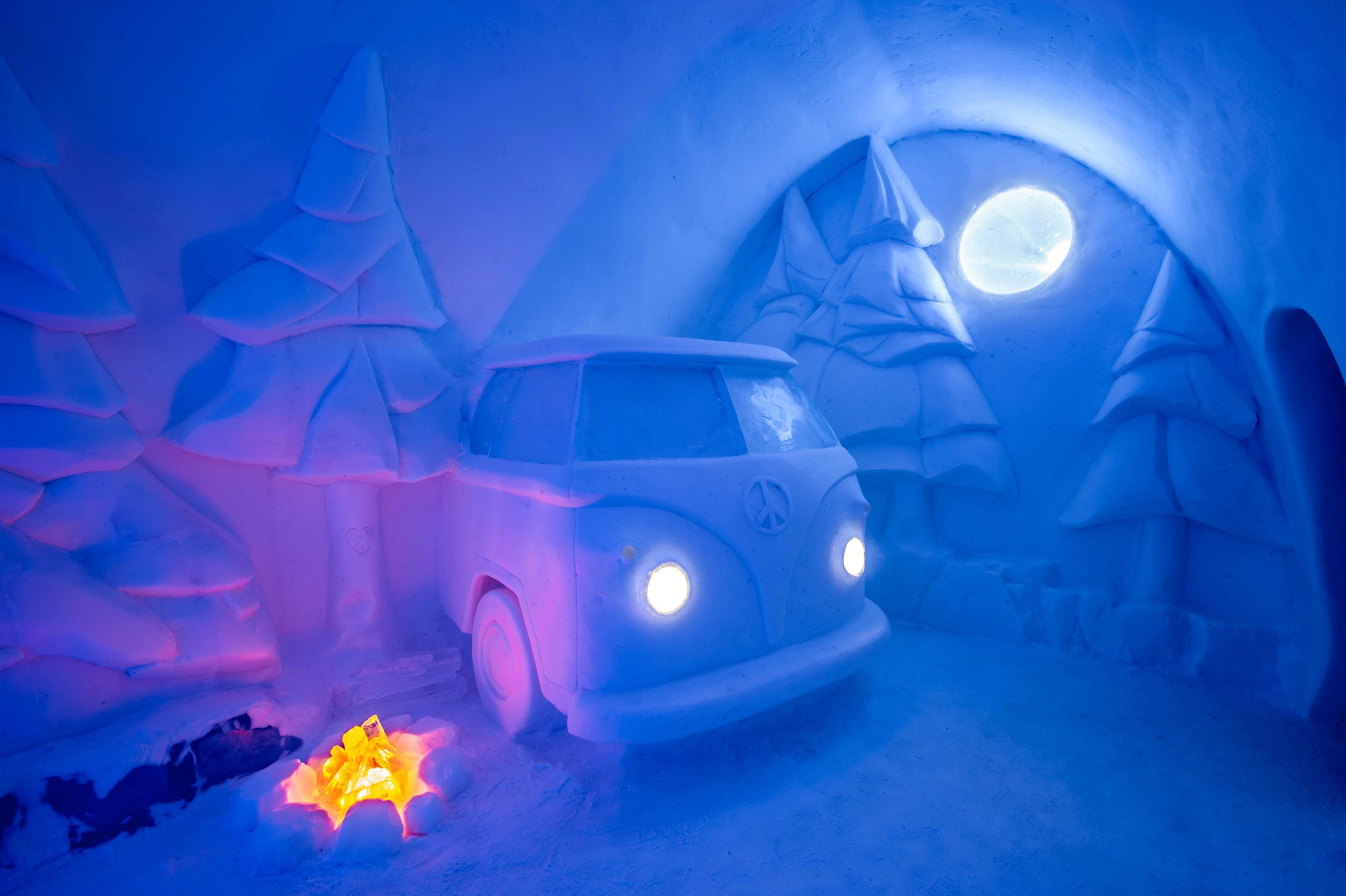 Icehotel #29- Art Suite 'Spruce Woods' by Christopher Pancoe & Jennie O'Keefe. Image by Asaf Kliger.jpg