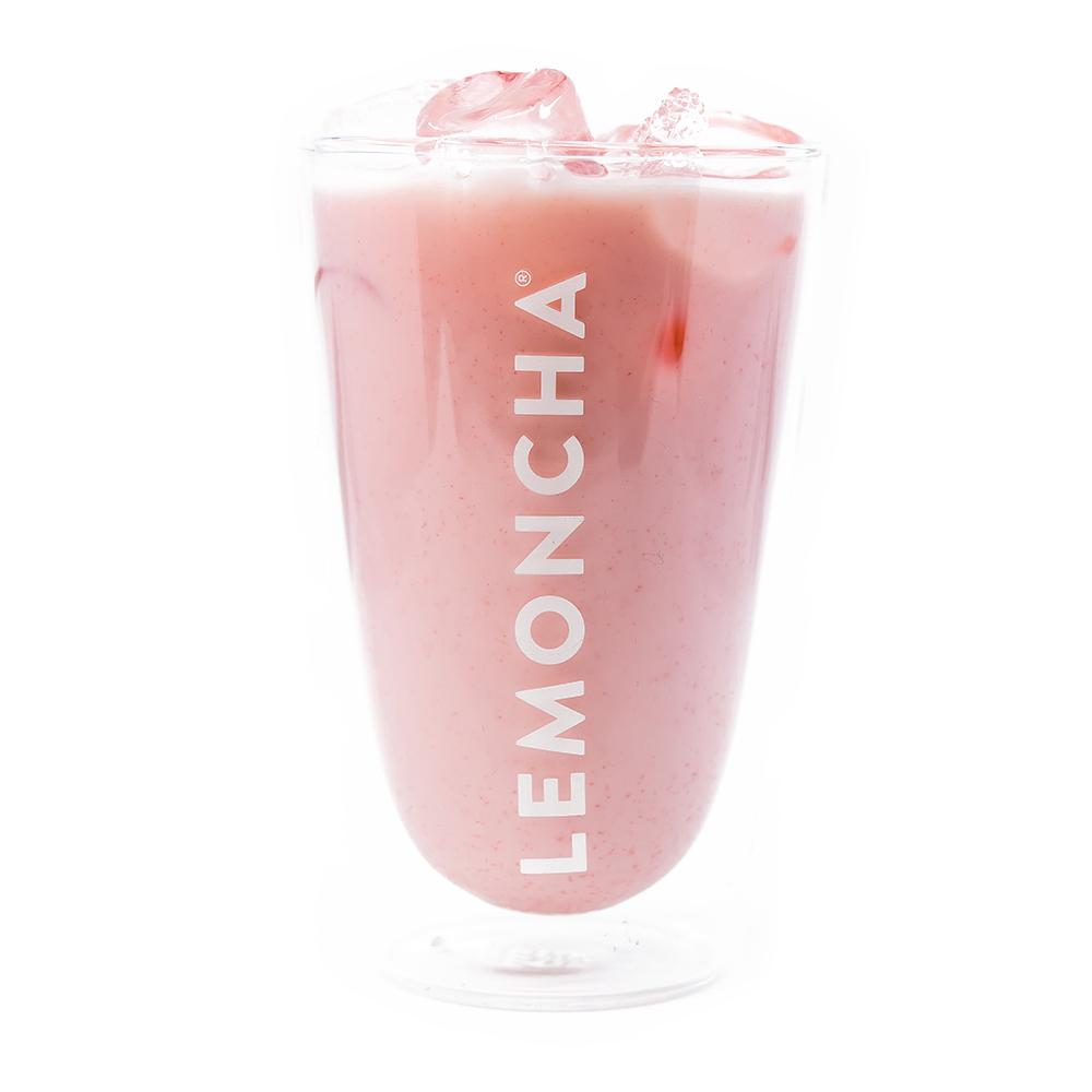 Strawberry Fruity Milk - Lemoncha