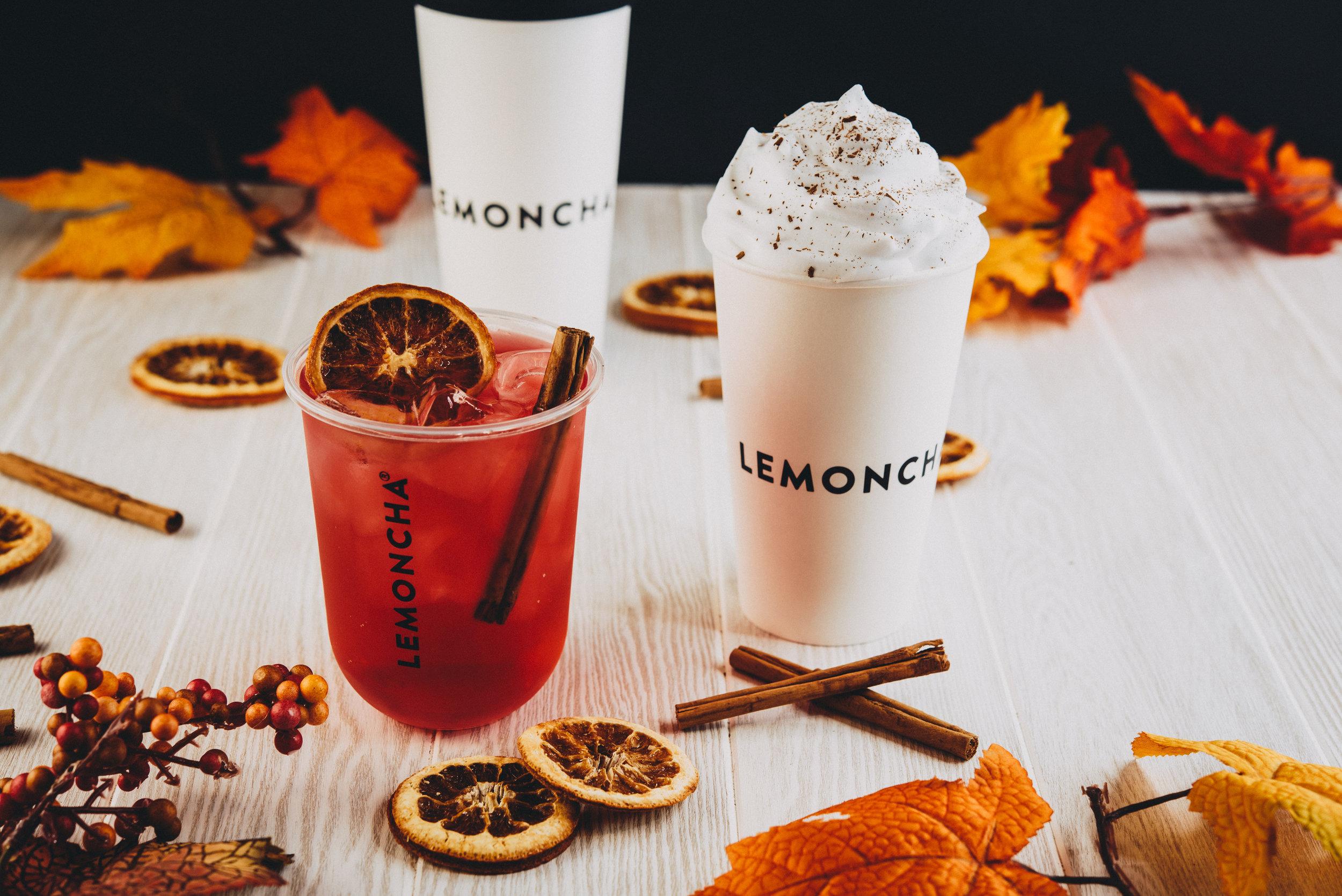 Lemoncha Limited Fall Drinks 2018