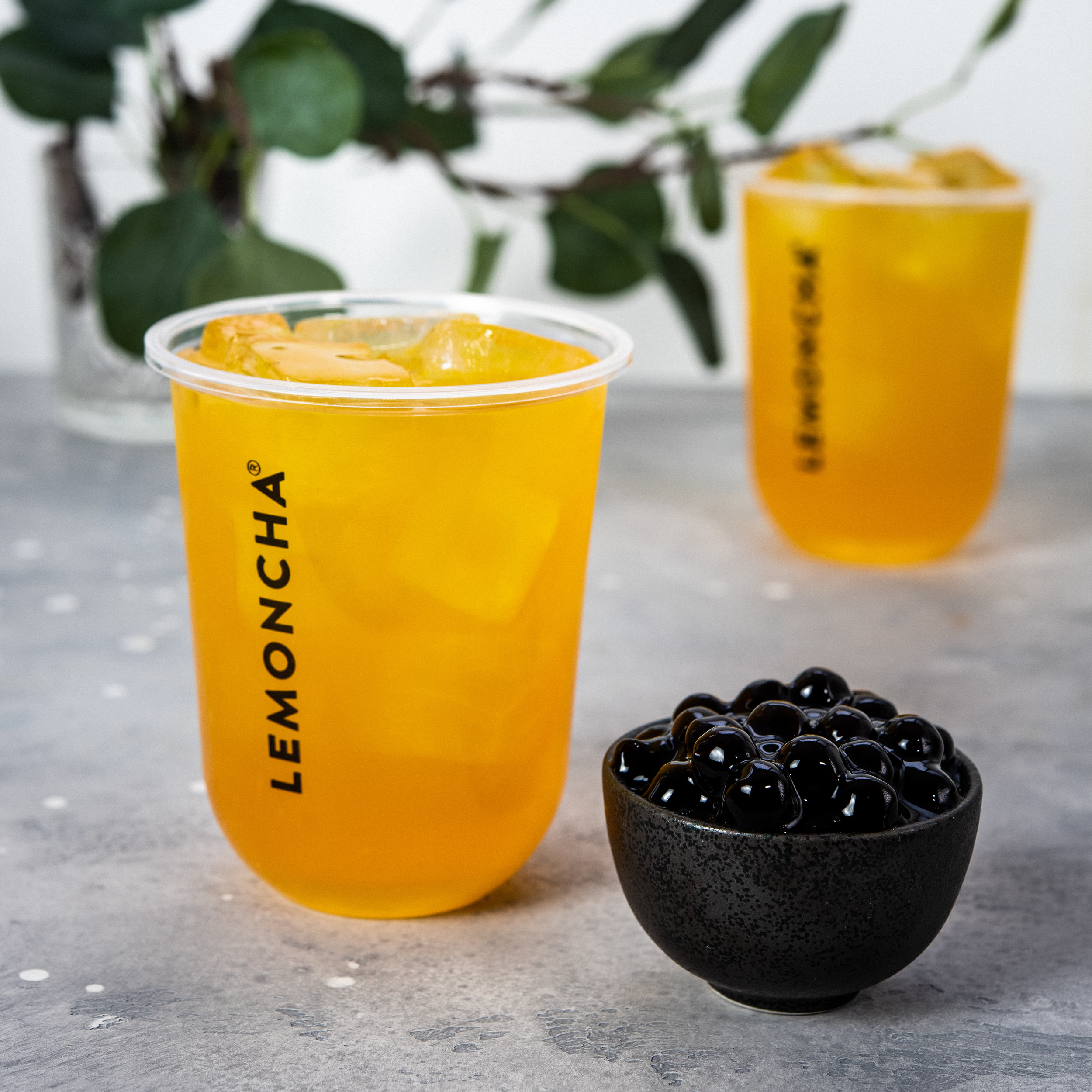 Lemoncha Iced Tea without topping