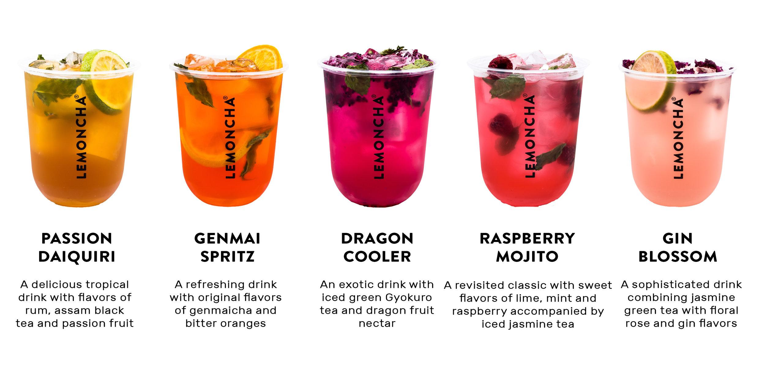 Lemoncha – Mocktail Range