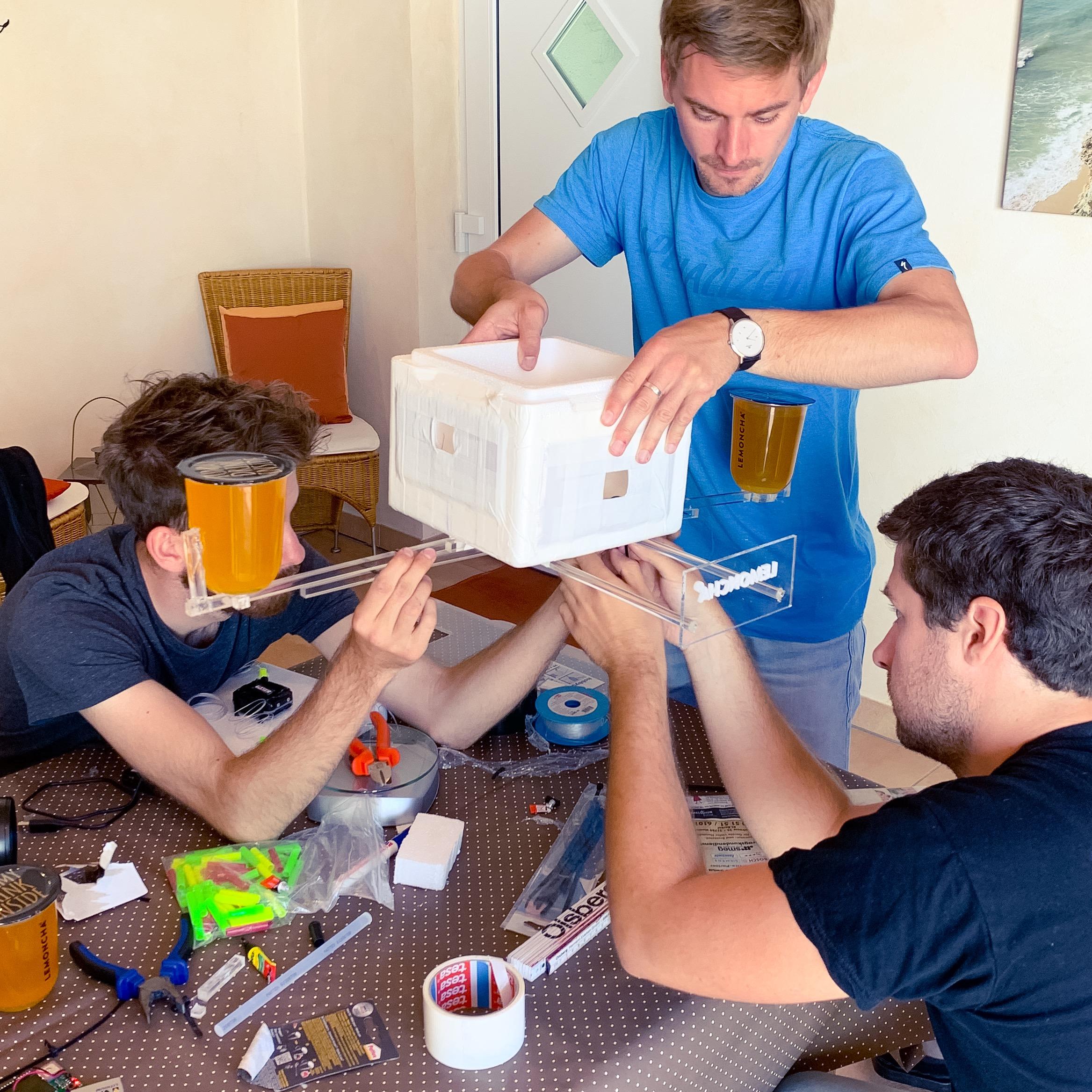 Construction de la capsule