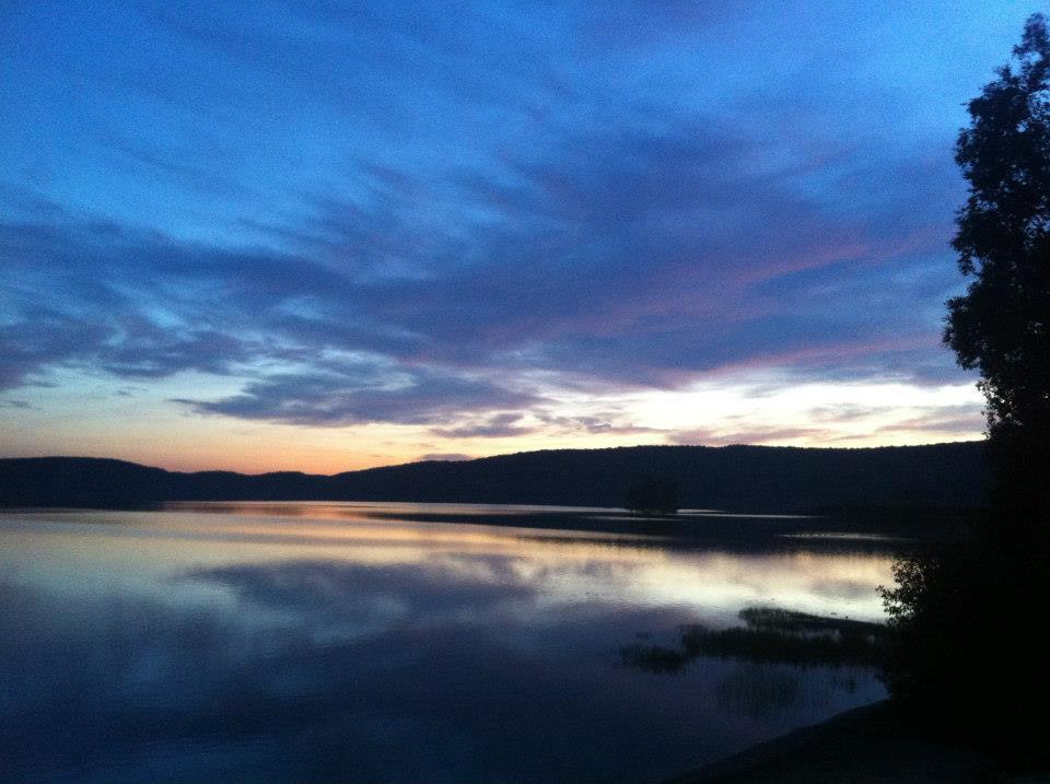 Sunset at Sand Lake