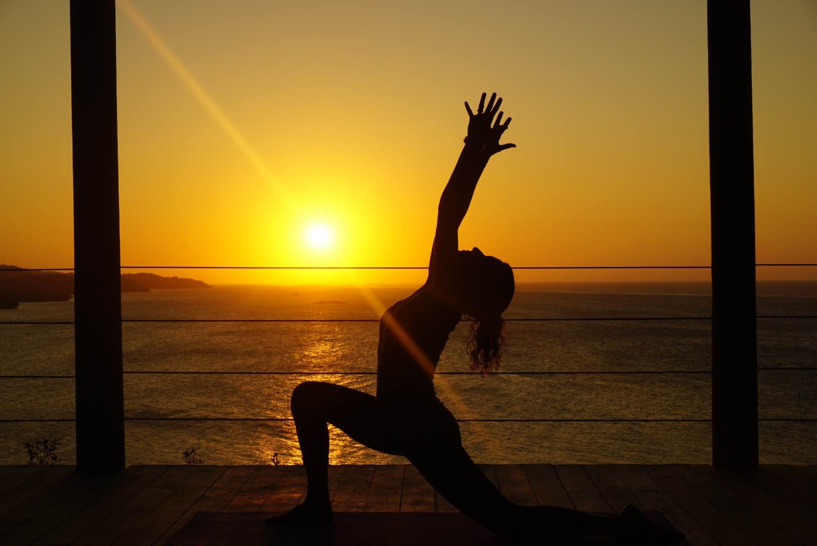 Sunset Vinyasa in Honduras