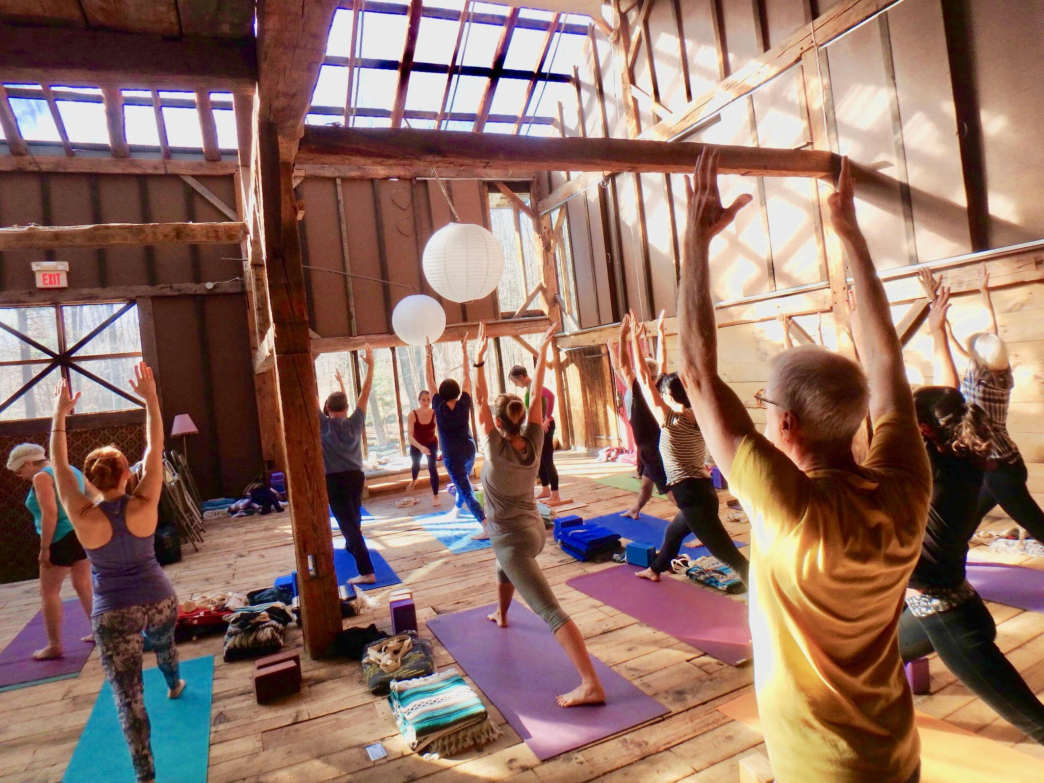 Yoga in the Berkshires