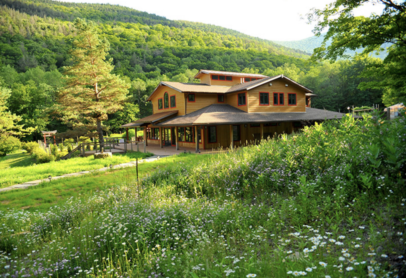 Yoga in the Catskills, Menla Retreat Center