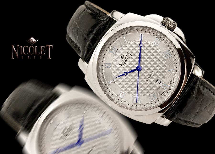 Nicolet Etesian Silvered Dial