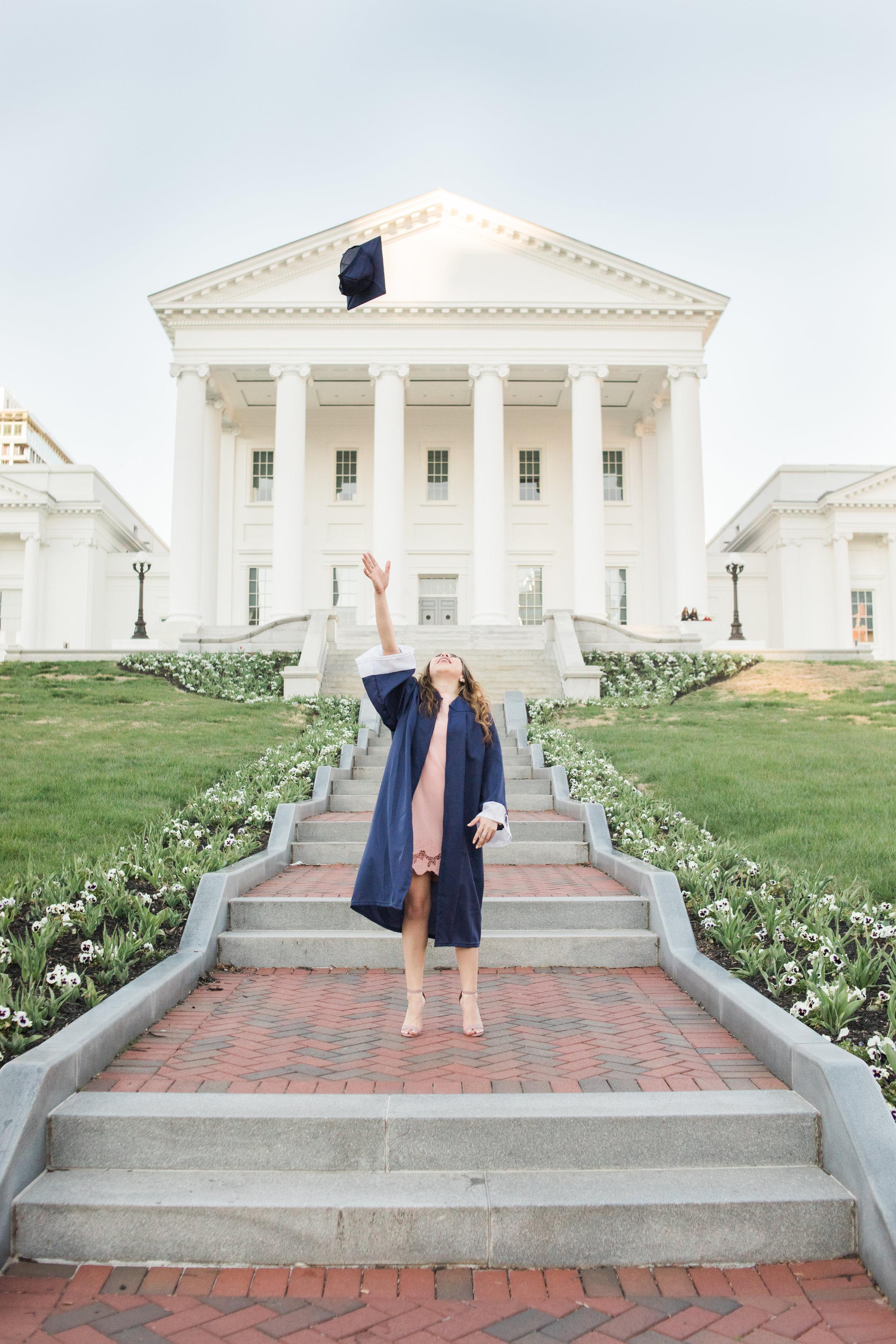 Graduation Portraits   Richmond VA Photographer - MJ Mendoza