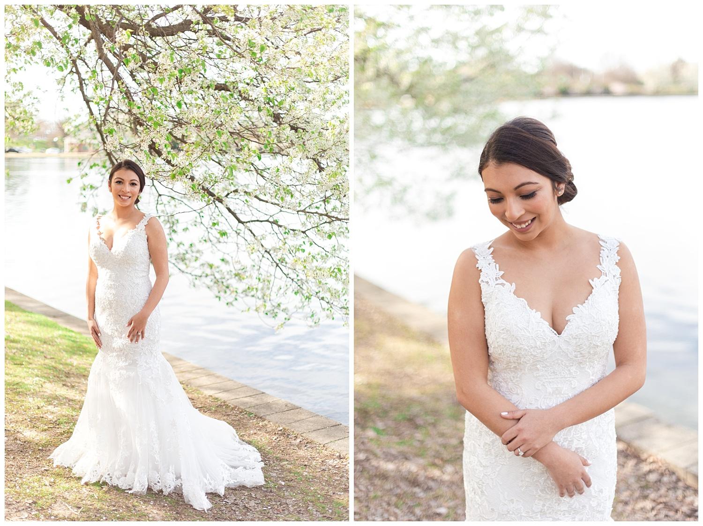 Richmond Cherry Blossom Bridal Session - Richmond VA Wedding Photographer