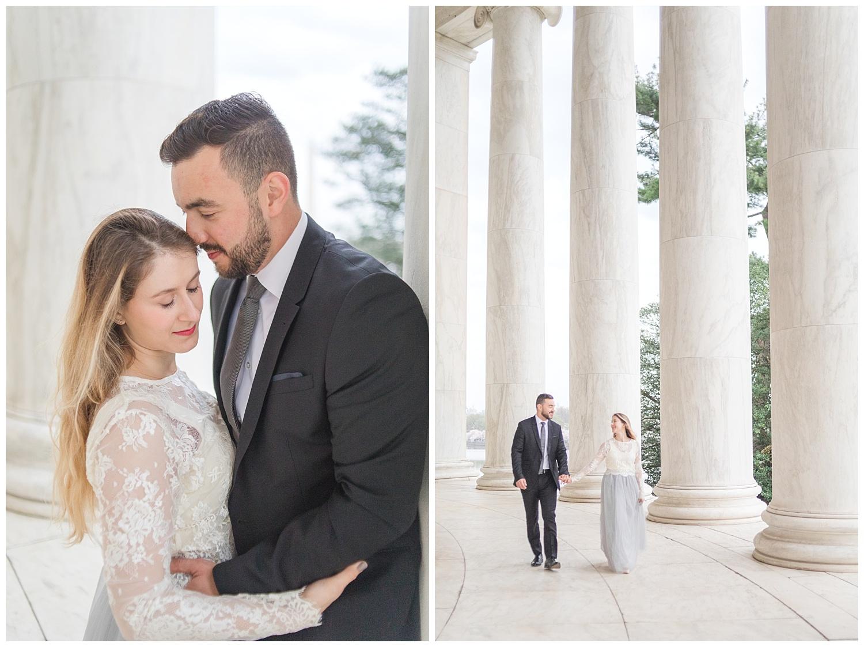 Richmond Wedding Photographer Washington DC Cherry Blossom Engagement Photo_0004.jpg