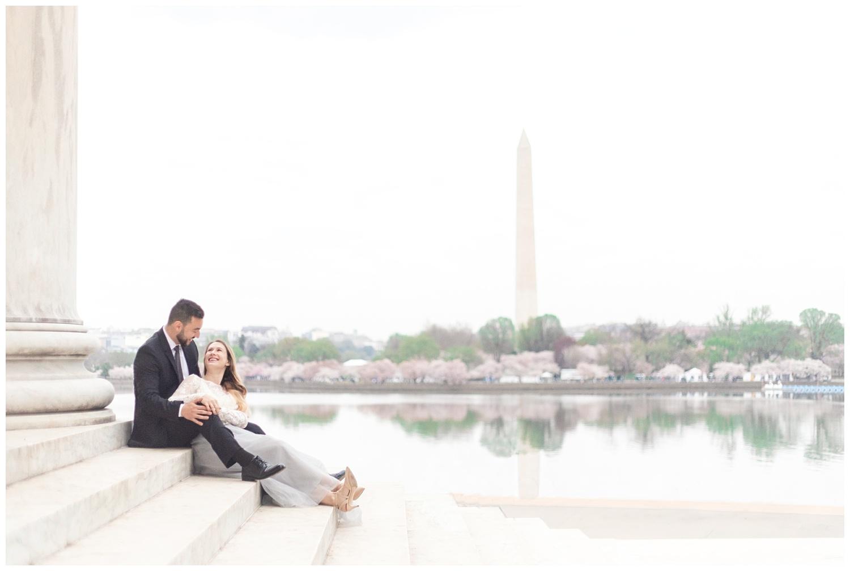 Richmond Wedding Photographer Washington DC Cherry Blossom Engagement Photo_0006.jpg