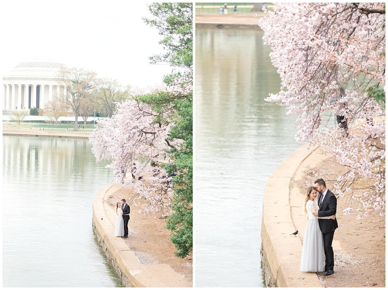 Richmond Wedding Photographer Washington DC Cherry Blossom Engagement Photo_0008.jpg
