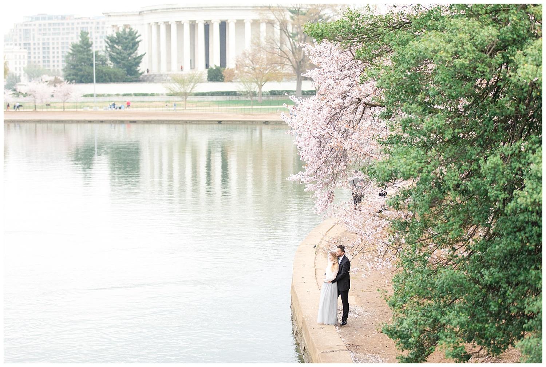 Richmond Wedding Photographer Washington DC Cherry Blossom Engagement Photo_0009.jpg