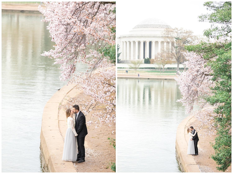 Richmond Wedding Photographer Washington DC Cherry Blossom Engagement Photo_0010.jpg