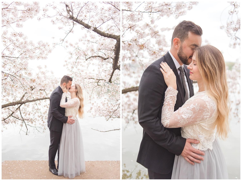 Richmond Wedding Photographer Washington DC Cherry Blossom Engagement Photo_0012.jpg
