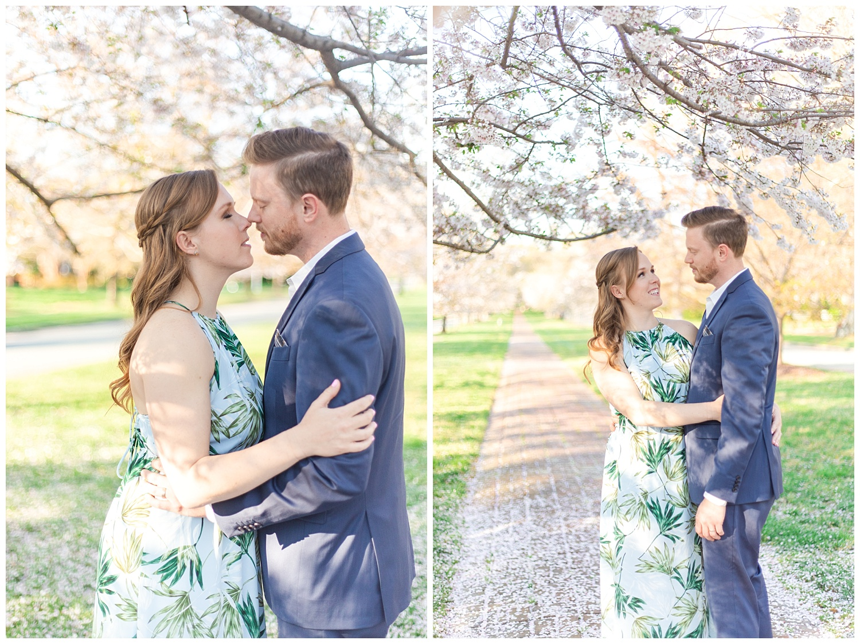 Richmond Wedding Photographer Richmond Cherry Blossom Engagement Photo_0002.jpg